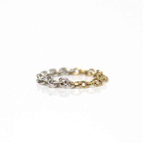 Perche?(ペルケ) / k18 silver loop half チェーンリング 2