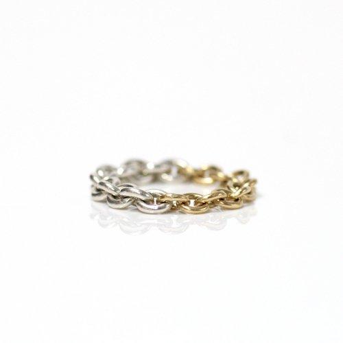 Perche?(ペルケ) / k18 silver loop half チェーンリング 3
