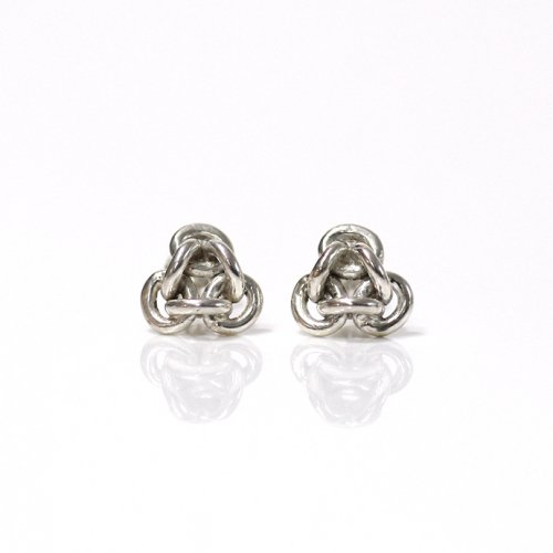 Perché? silver loop triangle チェーンピアス3 / トライアングル(片耳タイプ) 【sold out】