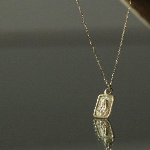 hirondelle et pepin(イロンデールエペパン) / k18 hn-491-17w マリア プチネックレス
