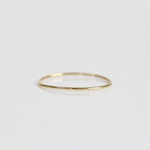 hirondelle et pepin(イロンデールエペパン) / k18 hr-508-17w 極細シンプルワイヤーリング