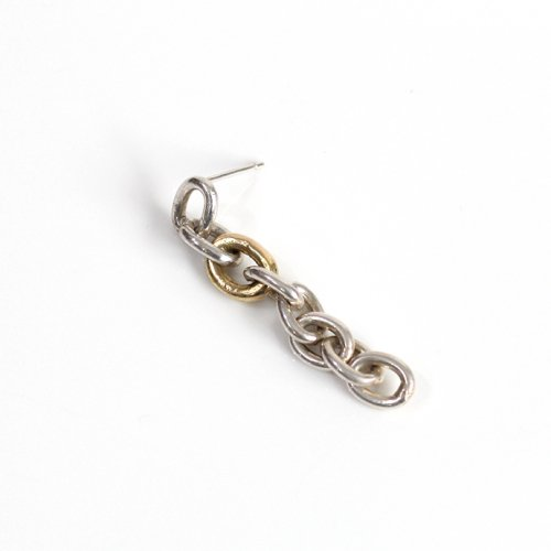 hirondelle et pepin(イロンデールエペパン) / k18 silver sp-13-17w チェーンピアス2 / ロング (片耳タイプ)