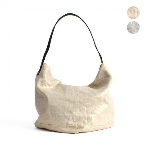 SEASIDE FREERIDE(シーサイドフリーライド) / OSL BAG メタリックリネン ショルダーバッグ - 全2色