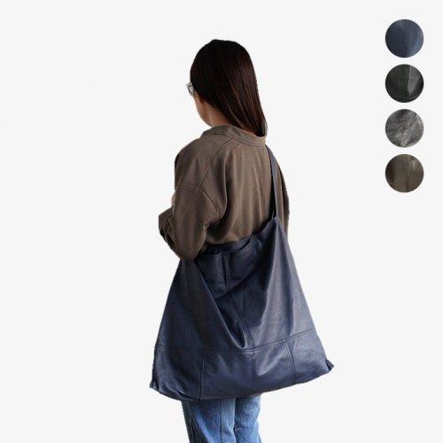 SEASIDE FREERIDE(シーサイドフリーライド) / RT BAG マグネットホック付き シープレザーショルダーバッグ - 全4色