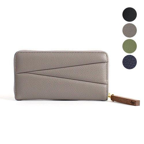 Ense(アンサ) / zipper wallet ラウンドファスナー ロングウォレット ew120 - 全4色