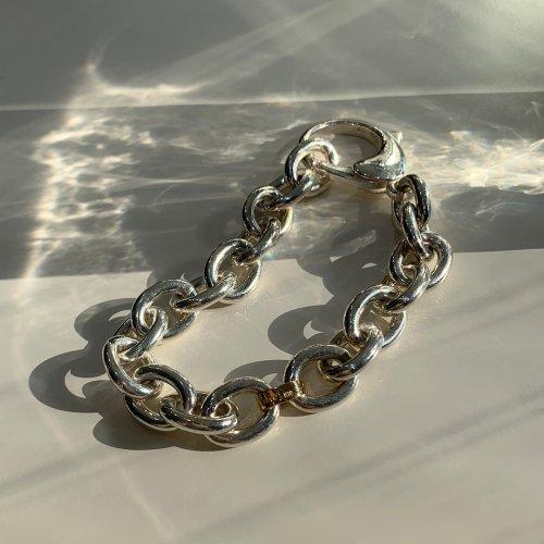 hirondelle et pepin(イロンデールエペパン) / k18 silver sv-18-18s ビッグチェーンブレスレット