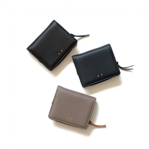 Ense(アンサ) / deer wallet ディアレザー二つ折りウォレット D705/2202 - 全3色