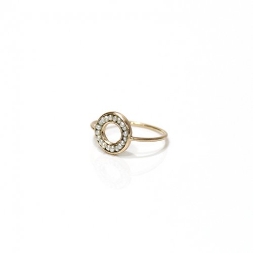 revie objects / 旧 Rice revie objects/ 旧 Rice/ RO1-04 ●pearl ring mini マルパールリング ミニ