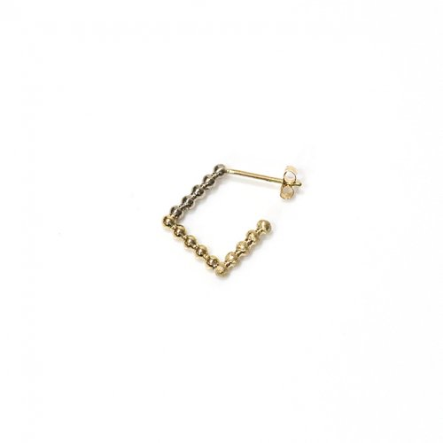 revie objects / 旧 Rice revie objects/ 旧 Rice/ SQ2-02 ■dots earring 1st ドッツピアス 1st(片方タイプ)