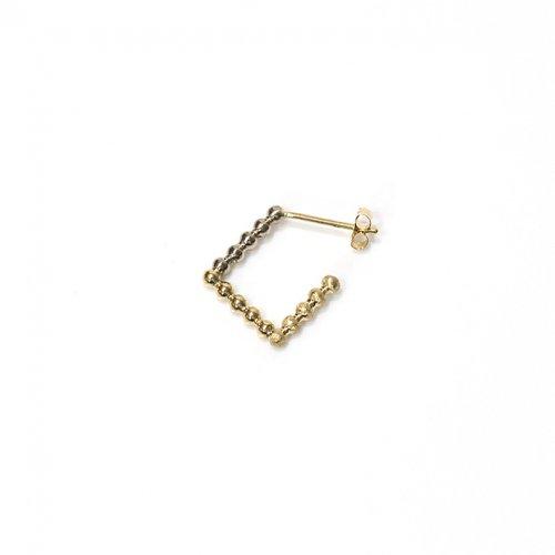 revie objects(レヴィオブジェクツ) / SQ2-02 ■dots earring 1st ドッツピアス 1st (片方タイプ)