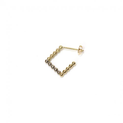 revie objects(レヴィオブジェクツ) / SQ2-03 ■dots earring 2nd ドッツピアス 2nd (片方タイプ)