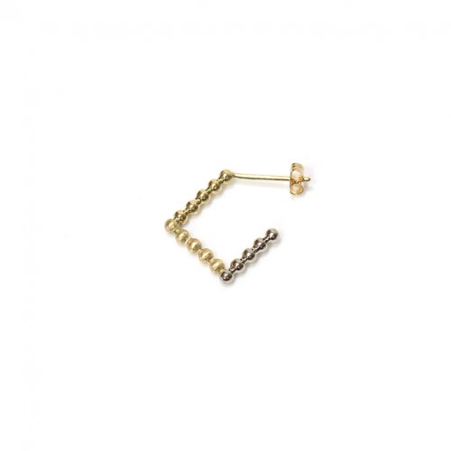 revie objects(レヴィオブジェクツ) / SQ2-04 ■dots earring 3rd ドッツピアス 3rd (片方タイプ)