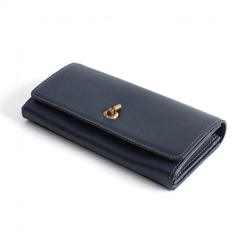 Ense(アンサ) / long wallet オコシロングウォレット ew116 - ネイビー