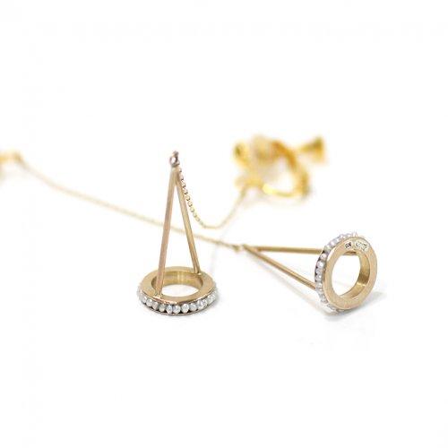 revie objects(レヴィオブジェクツ) / AS2-01 astilbe ear clip アスチルベ イヤリング