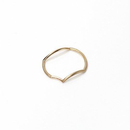 revie objects / 旧 Rice revie objects/ 旧 Rice/ AN1-01〈ANALYEZE〉●ring GLD アナライズ マルリング / ゴールド