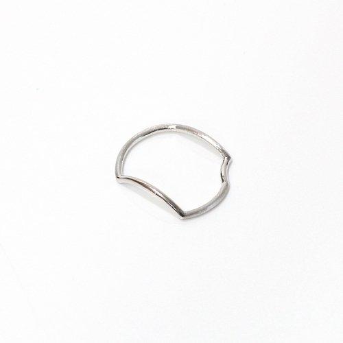 revie objects(レヴィオブジェクツ) / AN1-02 〈ANALYZE〉 ●ring SV アナライズ マルリング - シルバー