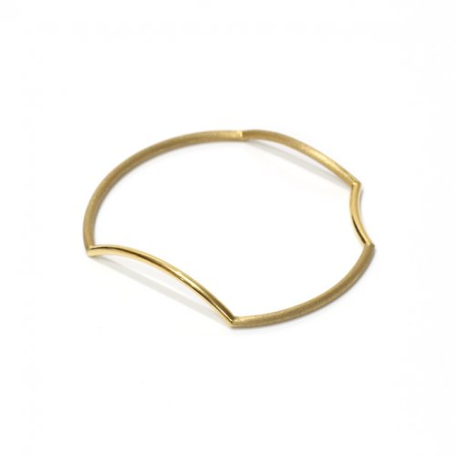 revie objects / 旧 Rice revie objects/ 旧 Rice/ AN4-01〈ANALYEZE〉●bangle GLD アナライズ マルバングル / ゴールド