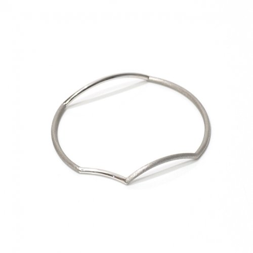 revie objects / 旧 Rice revie objects/ 旧 Rice/ AN4-02〈ANALYEZE〉●bangle SV アナライズ マルバングル / シルバー