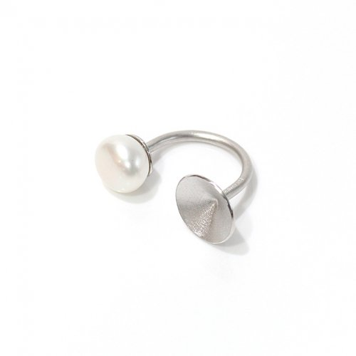 revie objects / 旧 Rice revie objects/ 旧 Rice/ PY1-02〈PYRAMID〉●pearl ring SV ピラミッド マルパールリング / シルバー