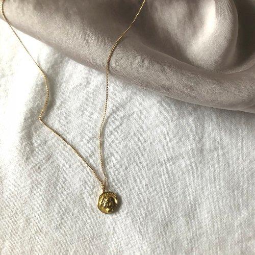 hirondelle et pepin(イロンデールエペパン) / k18 hn-18fw-517 イロンデールコイン ネックレス