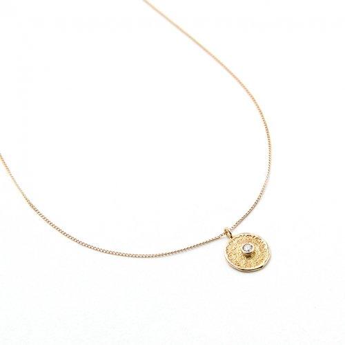 hirondelle et pepin(イロンデールエペパン) / k18 hn-18fw-519 ダイヤ ネックレス