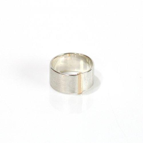 revie objects(レヴィオブジェクツ) / SI1-12 〈SIDE〉 straight line ring S サイド ストレートライン ワイドリング S
