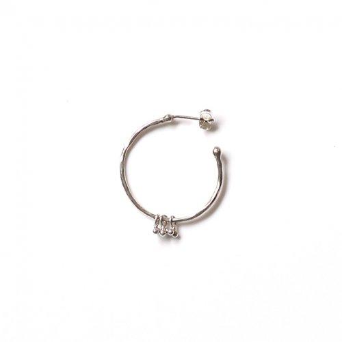 Perche?(ペルケ) / silver suzunari シルバー フープピアス 1