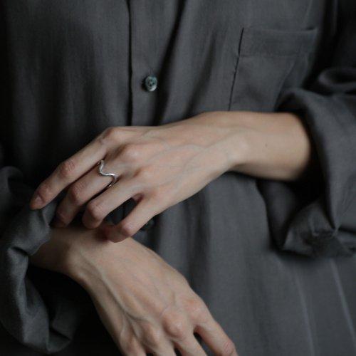 hirondelle et pepin(イロンデールエペパン) / silver sr-19ss-32 シルバー ウェーブ リング
