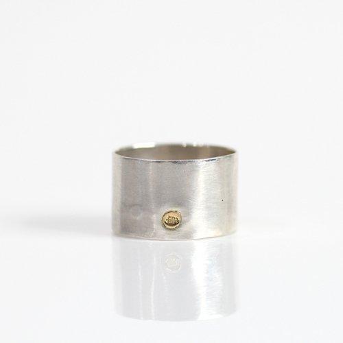 【廃番商品】hirondelle et pepin(イロンデールエペパン) / silver sr-19ss-34 シルバー thin ワイドリング 1