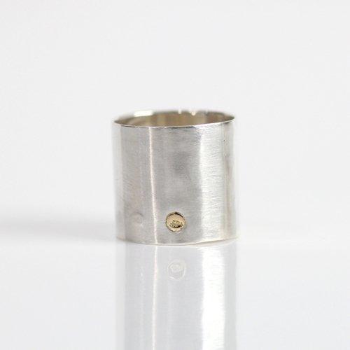 【廃番商品】hirondelle et pepin(イロンデールエペパン) / silver sr-19ss-36 シルバー thin ワイドリング 3