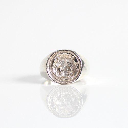 hirondelle et pepin(イロンデールエペパン) / silver sr-19ss-37 シルバー インタリオ ワイドリング 1