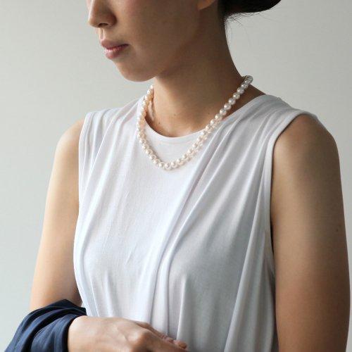 【廃番商品】hirondelle et pepin(イロンデールエペパン) / silver sn-19ss-16 アコヤパール ネックレス