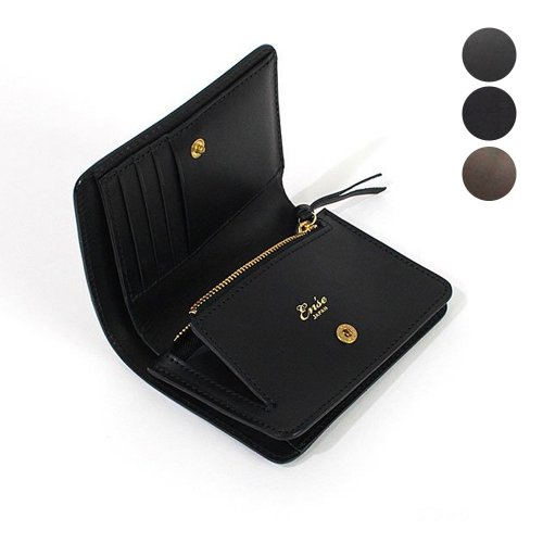 Ense(アンサ) / wallet レザー 二つ折りウォレット mw802 - 全3色