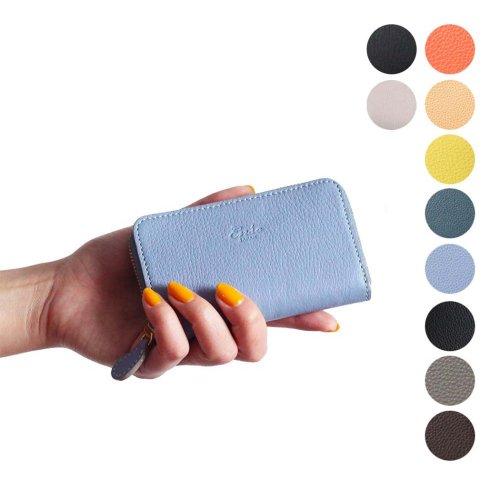 Ense(アンサ) / card case レザー ラウンドジッパー カードケース ew110 - 全8色