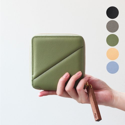 Ense(アンサ) zipper wallet / レザー ラウンドファスナー 二つ折り ウォレット ew-125 - 全3色<img class='new_mark_img2' src='//img.shop-pro.jp/img/new/icons7.gif' style='border:none;display:inline;margin:0px;padding:0px;width:auto;' />