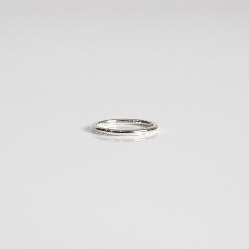 UNKNOWN. / silver925 U003 NORM リング M - シルバー