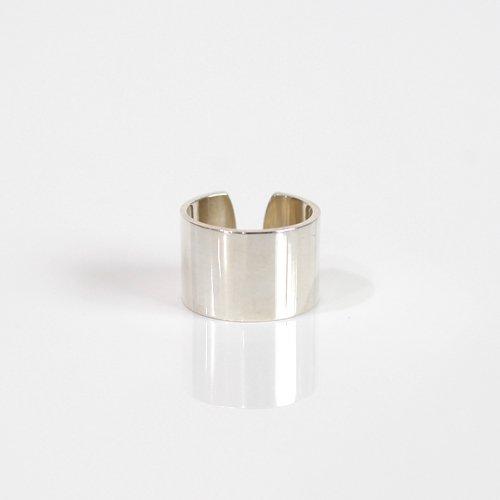 UNKNOWN. / silver925 U008 FLAT リング 15mm - シルバー