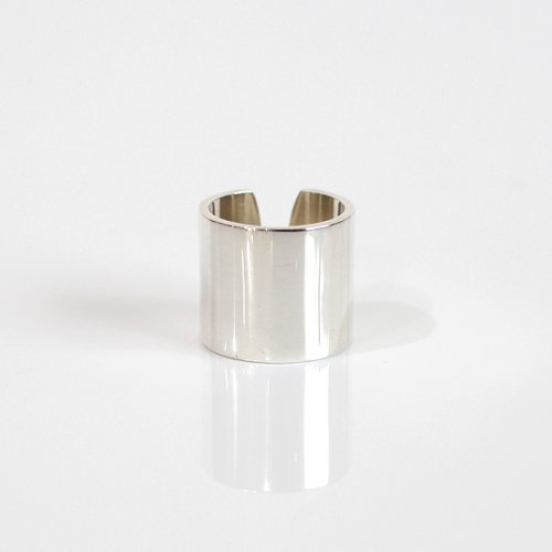 UNKNOWN. / silver925 U009 FLAT リング 20mm - シルバー