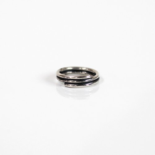 UNKNOWN. / silver950 U026 WIND リング S - シルバー