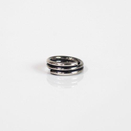 UNKNOWN. / silver950 U027 WIND リング M - シルバー