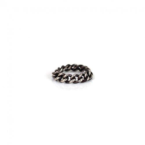 UNKNOWN. / silver925 U031 CHAIN リング M - ブラック
