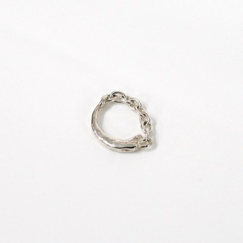 UNKNOWN. / silver925 U045 FUNG リング - シルバー