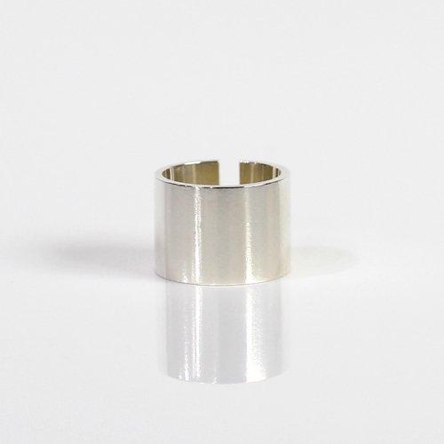 UNKNOWN. / silver925 U506 FIT リング L - シルバー HIGH QUALITY LINE