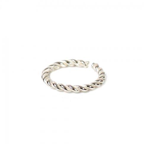 UNKNOWN. / silver925 U510 TWIST リング M - シルバー HIGH QUALITY LINE