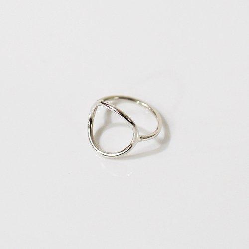 UNKNOWN. / silver925 U517 THIN CIRCLE リング - シルバー