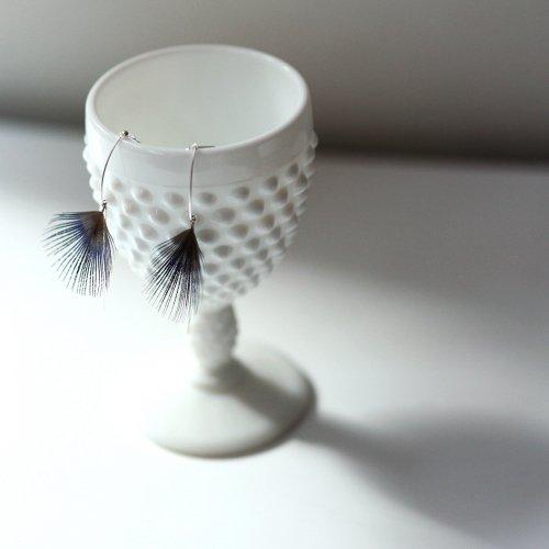moca.arpeggio(モカ アルペジオ) / FP-13 Feather  フェザー イヤリング - ブルー