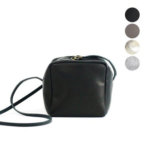 Ense(アンサ) / cube pochette キューブ型 ショルダーバッグ D610 - 全4色
