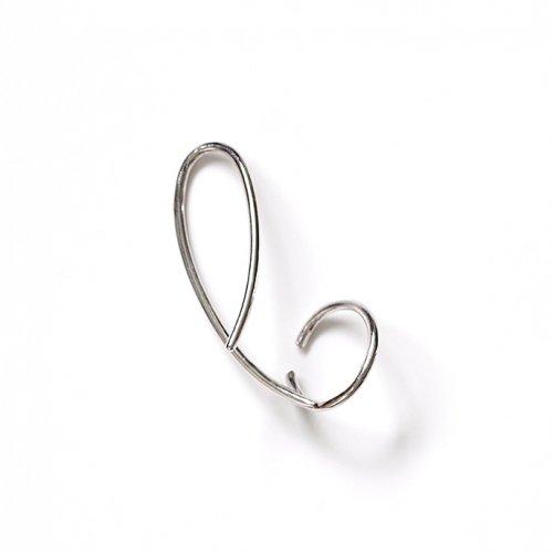 revie objects(レヴィオブジェクツ) / LI2-09 〈LINKING〉 wind ear cuff SV ウインドイヤーカフ - シルバー (右耳タイプ)