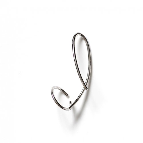 revie objects(レヴィオブジェクツ) / LI2-09 〈LINKING〉 wind ear cuff SV ウインドイヤーカフ - シルバー (左耳タイプ)