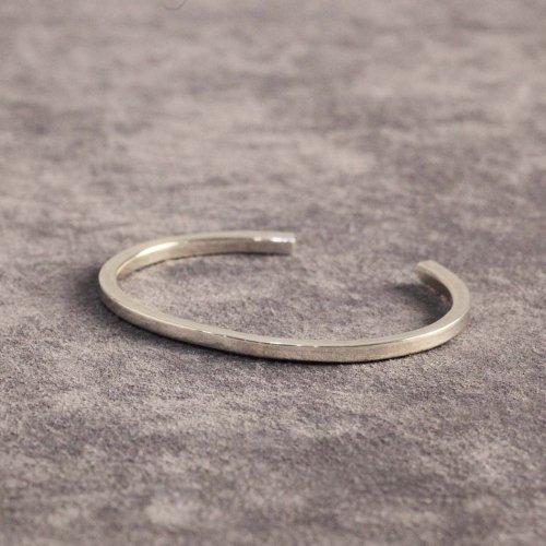 hirondelle et pepin(イロンデールエペパン) / silver sv-19fw-24 シンプルシルバー バングル